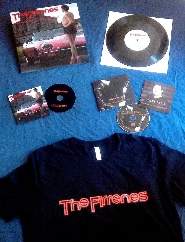 buy Firrenes T-shirts, CDs and records